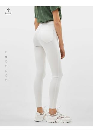 Скинни/джинсы высокая посадка.
