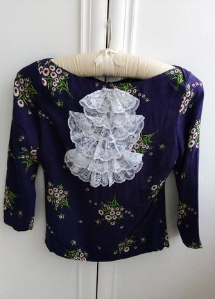 Модная блузочка с жабо