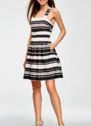 Платье сарафан летнее в полоску 100 % хлопок