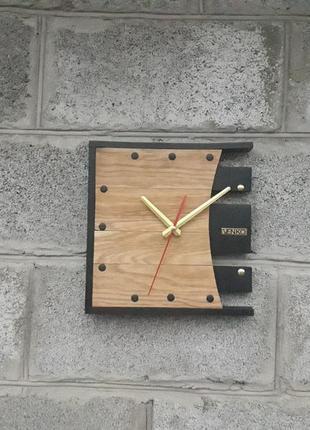 Настенные часы в современном дизайне, необычные настенные часы, деревянные часы