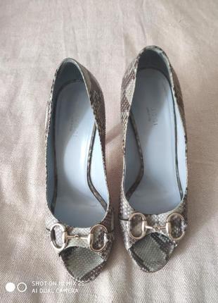 Туфли с открытым носком gucci оригинал
