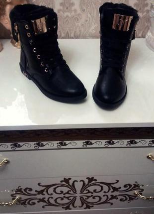 Зимние ботинки!размеры 37 38 38 39