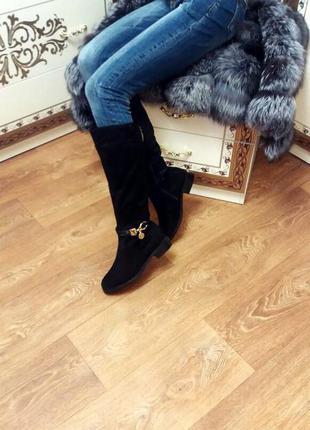 Шикарные зимние ботиночки с камушками !