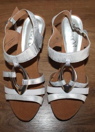 Босоножки на каблуке caprice, 39, 40 размеры