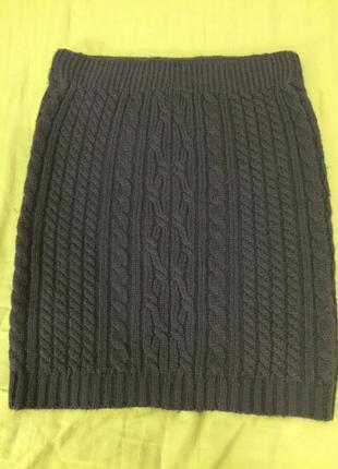 Зимняя мини юбка
