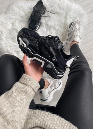 Calvin klein strike 205 sneaker black шикарные женские кроссовки