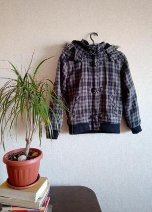 Куртка с капюшоном с искусственным мехом