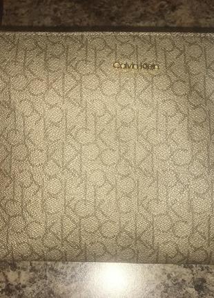 Женская сумочка на плече оригинал calvin klein с сша