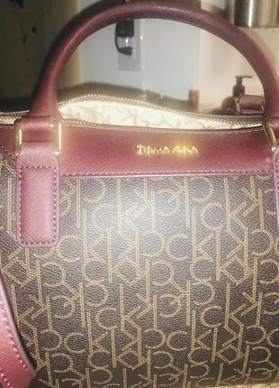 Деловая женская сумка на плече оригинал calvin klein с сша2 фото