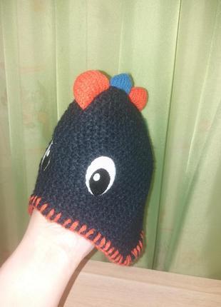 Модная шапочка на флисе