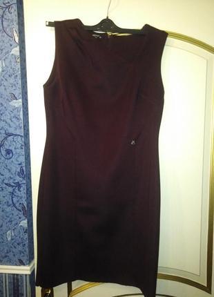 Итальянское платье карандаш - миди / xl