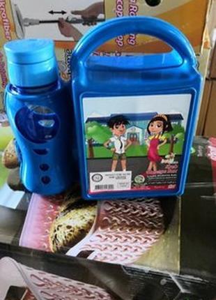 Бутербродниця дитяча  з бутилочкою