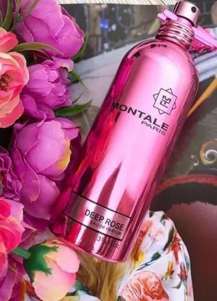 Deep roses montale_original_eau de parfum 5 мл_затест
