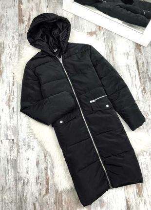 Классная куртка парка удлинённая на синтепоне утеплённая прямого кроя