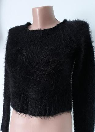 💥💥пушистий укорочений свитерок