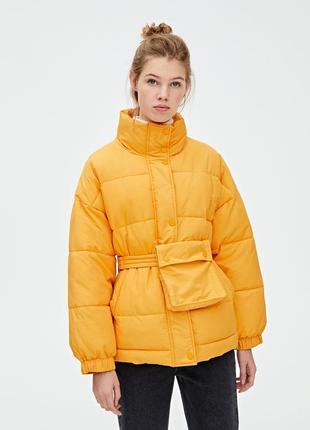 Куртка дутік крутая куртка pull&bear s m