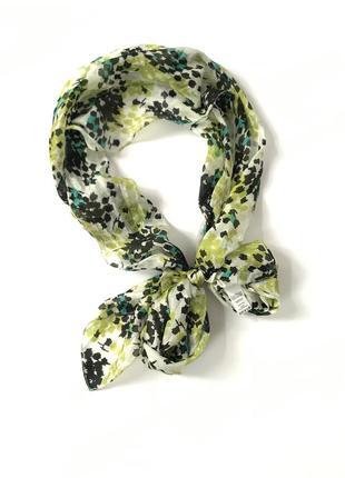 Шелковый шарф tu 100% шёлк ❤️