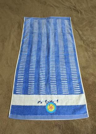 Нежное бархатное полотенце