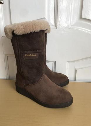 Зимние ботинки сапоги kandahar на цигейке оригинал