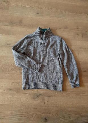 Тепла плетяна кофта на 6-8 років h&m