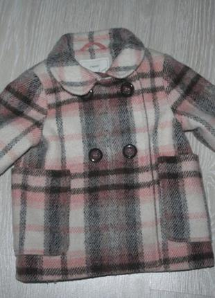 Крутое теплое пальтишко от i love next