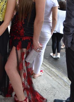 Вечірня/випускна сукня в стилі sherry hill ручна робота(вечернее платье,длинное,выпускное