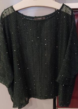 🔥🔥🔥трендова (блуза) футболка в стилі oversize від next1 фото