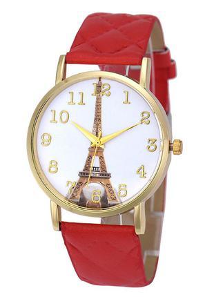 Часы с эйфелевой башней
