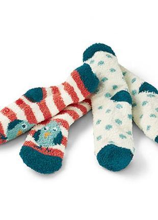 Шикарные плюшевые носочки с тормозками от tchibo, германия - р. 31-35