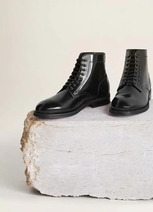 Отменного качества высокие туфли ботинки mango
