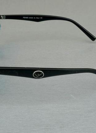 Fendi очки женские солнцезащитные голубые3 фото