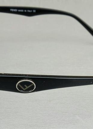 Fendi очки женские солнцезащитные голубые4 фото
