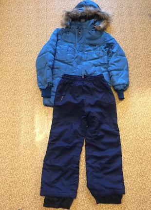 Комплект куртка и штаны zara128-130 см