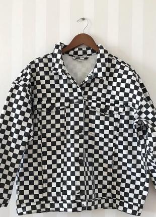 Джинсовый пиджак monki