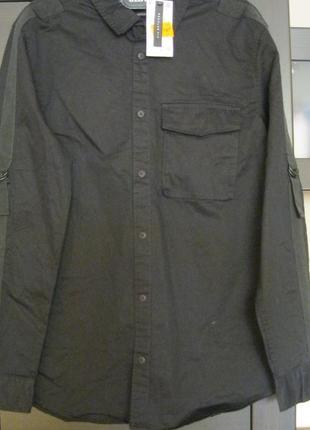 Рубашка regular fit-польша 100%коттон