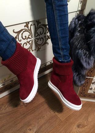 Очень красивые ботиночки  36 р