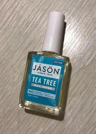 Jason natural, масло чайного дерева для ногтей и кутикулы