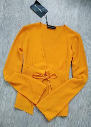 Блуза на завязках