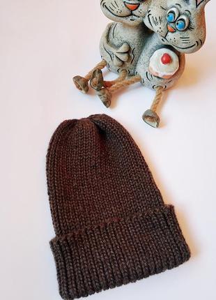 Классическая шапка бини