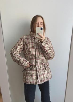 Куртка в принт