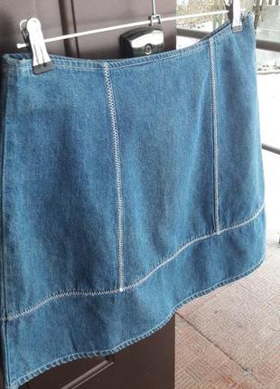 Летняя джинсовая юбочка