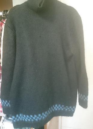 Мохеровый теплющий свитерок