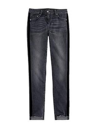 Трендовые джинсы с лампасами 36 euro, blue motion, германия