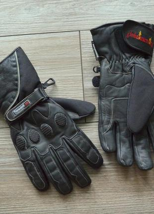 Мотоперчатки кожа thinsulate 3m thermal insulation xl