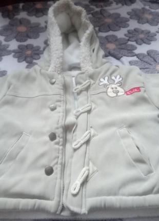 Тепла куртка дубльонка
