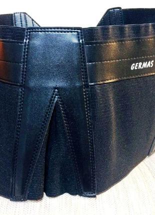 Мото эластичный пояс резинка motorradjacke germas резинка, кожаные вставки, крепления