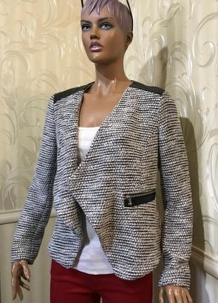 Пиджак на запах, h&m, размер eur 44/xl-xxl