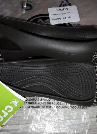 Crocs sienna shiny стильные оригинал р 7