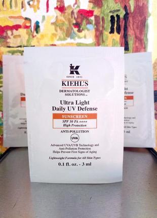 Солнцезащитный флюид с spf 50 от негативного воздействия солнца kiehls