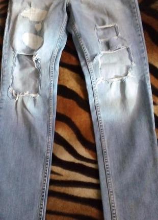 #розвантажуюсь рваные джинсы скины stradivarius